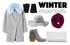 """""""winter wonderland"""" by lynnesummersxx ❤ liked on Polyvore featuring moda, The Elder Statesman, Rebecca Taylor, Charlotte Russe, Halogen e GUESS"""
