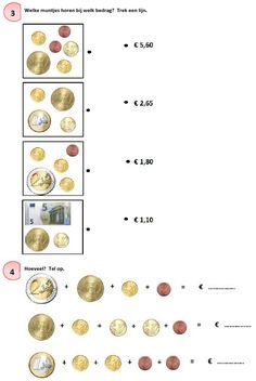 Oefenmateriaal rekenen met geld2