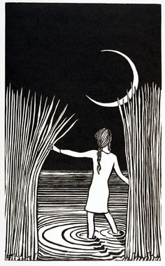 Iin my dreams. Linocuts portfolio