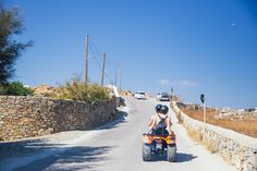 riding atv around the island mykonos greece The Complete Mykonos Travel Guide Greek Islands To Visit, Best Greek Islands, Greece Today, Sarakiniko Beach, Greek Town, Greek Island Hopping, Mykonos Greece, Travel Goals, Greece Travel