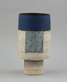 Robin Welch | A cylindrical Vase. Nice take on a classic Hans Coper form.