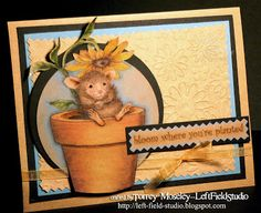 House-Mouse & Friends Monday Challenge: Mid Way Reminder for HMFMC#201 FLOWER POWER