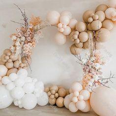 Balloon Backdrop, Balloon Garland, Balloon Arch Diy, Ballon Arch, Backdrop Decor, Background Decoration, Bridal Shower Balloons, Wedding Balloons, Metallic Balloons