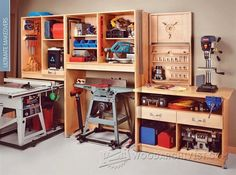 3520-Garage Workshop Plans