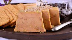 Micuit de foie y mermelada de ciruelas pasas