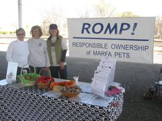 Farm Stand 2010 with Board members Kathie, Beth and Joni
