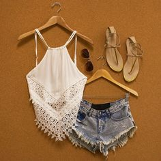 Boho Summer Outfit | For MORE Summer Fashion Ideas FOLLOW http://www.pinterest.com/happygolicky/summer-style-jewelry-clothing-swimsuits-accessorie/