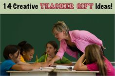 14 Creative Teacher Gift Ideas!