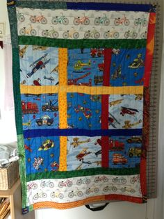Transportation Quilt 2, by Milly for CCS