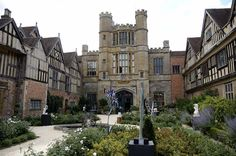 Coughton Court, Warwickshire - The Coughton estate has been owned by the Throckmorton family since 1409.