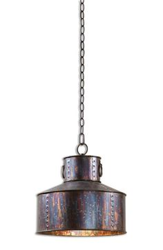 Free shipping and returns on Uttermost 'Giaveno' Pendant Light at Nordstrom.com. A weathered, oxidized finish brings out the natural luminescence of a bronzed pendant light that channels vintage industrial style and everyday sophistication.