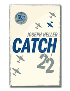 Catch 22 by Joseph Heller 1961.  A Cronulla Librarian is reading this classic.