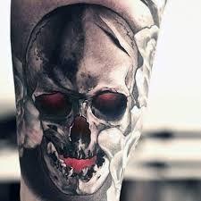 Resultado de imagem para tattoo preto e branco e colorida no braço