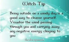 Witch tip