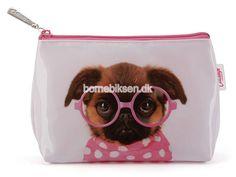 Køb lille Catseye toilettaske, pink hund her - til en skarp pris