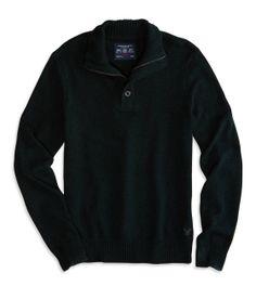 AE Mock Neck Sweater