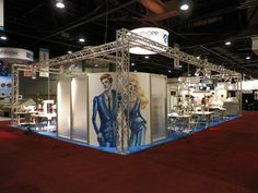 Custom Truss Trade Show Booth at Texprocess 2012