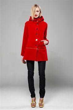 Woolverine Jacket - Zarina - ANDREA MOORE Dress Up, Coat, Red, Jackets, Fashion, Down Jackets, Moda, Sewing Coat, Costume