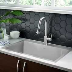 33x22 Stainless Steel Sink : Memphis 33x22 Stainless Steel Kitchen Sink Kit by American Standard
