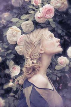 Flower Maiden Fantasy ❀ beautiful art   fashion photography of women and  flowers - Pre 0a7d2ac0f7d7