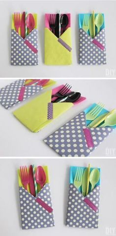 Crafting with Paper: DIY Utensil Holders! 2019 Crafting with Paper: DIY Utensil Holders! These little guys are so easy to make and they come in really handy at parties! The post Crafting with Paper: DIY Utensil Holders! 2019 appeared first on Paper ideas. Diy Crafts For Kids, Arts And Crafts, Diy Paper Crafts, Cardboard Crafts, Beach Crafts, Summer Crafts, Fall Crafts, Fabric Crafts, Wood Crafts