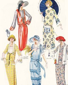 artdeco.quenalbertini: 1923 Delineator fashion