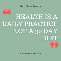 Health is a daily practice. Nutrition is important for good brain health which supports mood, sleep, energy and concentration. See my nutritionist website for more free nutrition tips, advice and information about nutritional therapy. Health And Wellness Quotes, Nutrition Quotes, Wellness Tips, Nutrition Tips, Health And Nutrition, Health Fitness, Good Health Quotes, Motivational Health Quotes, Shakeology Nutrition