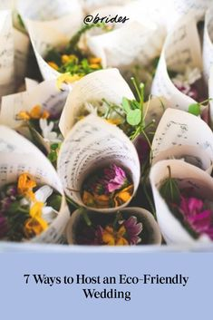 7 Ways to Host an Eco-Friendly Wedding