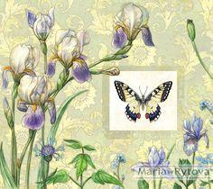irises on Behance