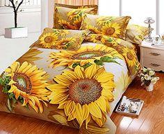 Sunflower Bedding Sets – Kaylee And Tepid
