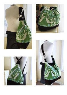 X large convertible backpack messenger diaper bag purse
