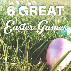 6 Great Easter Games #stumin #easter #eastergames