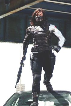 I could watch this all day ;) - The Winter Soldier - Murder Strut