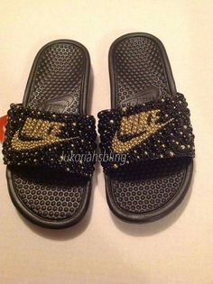 Hey, I found this really awesome Etsy listing at https://www.etsy.com/listing/399536073/bling-nike-slides-nike-shoes-accessories