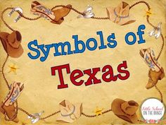 This is a great BUNDLE for introducing or reviewing the symbols of Texas. The complete unit contains:Symbols of Texas Fact CardsPocket for Fact CardsSymbols of Texas MatchState Flag and Seal of Texas ActivitySymbols of Texas SortSymbols of Texas and USA SortSymbols of Texas Dominoes (2 Sets)The presentation contains a slide for each symbol in the unit.Alone, the unit can be found at:Texas Symbols Unit - No Prep Alone the presentation can be found at:Texas Symbols Presentation