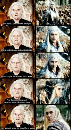 Lee Pace did well...considering they ruined his scenes/story....with Hollywood garbage....