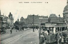 place Saint-Michel - Paris 5e/6e