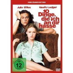 10 Dinge, die ich an dir hasse (Jubiläums-Edition): Amazon.de: Heath Ledger, Julia Stiles, Joseph Gordon-Levitt, Richard Gibbs, Gil Junger: Filme & TV