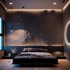 Fancy Bedroom, Bedroom Setup, Room Design Bedroom, Modern Bedroom Design, Home Room Design, Home Decor Bedroom, Wood House Design, Small House Interior Design, Luxury Interior Design
