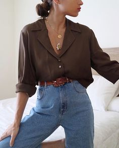 how to style baggy pants Mode Outfits, Chic Outfits, Winter Outfits, Look Fashion, 90s Fashion, Fashion Outfits, Fashion 2018, Korean Fashion, Fashion Brands