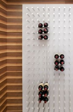 cool wine wall