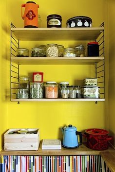 keltainen keittiö