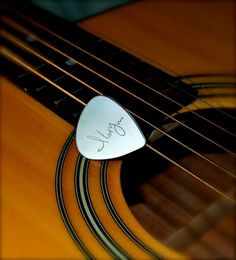 31290cacadd Solid sterling silver Guitar Pick or by CherishedSentiments Guitar Picks