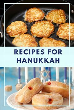 You'll love our 15 different latke recipes and plenty of donuts and other fried . You'll love our 15 different latke recipes and plenty of donuts and other fried foods! Feliz Hanukkah, Hanukkah Food, Hannukah, Hanukkah Meals, Hanukkah 2017, Hanukkah Celebration, Happy Hanukkah, Passover Recipes, Jewish Recipes