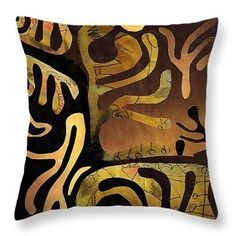 Spiritual Drummer Throw Pillow  http://fineartamerica.com/products/spiritual-drummer-sarah-loft-thro..  #throwpillows #sarahloft #art #mixedmedia #abstract