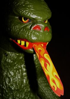 Mattel Shogun Warrior Godzilla toy which  I still own