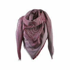 Lombardia scarf wine / Balmuir