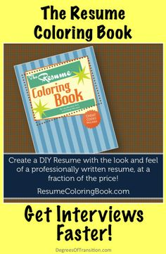 Create a DIY resume that looks professionally written. Inspired by grads, works for anyone.