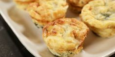 Make-ahead muffin tin frittatas that only have to be warmed up before serving.