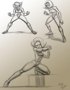 Been working on a female character that is strong and powerful. Im still developing her character so here are some action poses and rotation. Action Pose Reference, Drawing Reference Poses, Art Reference, Drawing Body Poses, Female Drawing, Female Action Poses, Fighting Poses, Character Design Tutorial, Sketch Poses